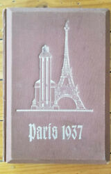 Extremely Rare Nazi German Stereographic Book With 3d Photos Of Paris Expo 1937