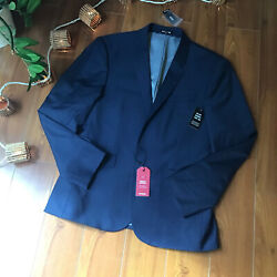 Express Men's Suiting Extra Slim Navy Wool Sport Jacket Nwt 40s
