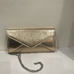 Charming Charlie Rose Gold Clutch $9.75