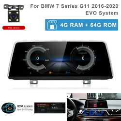 8-core Android 10 Car Gps Navi Multimedia Wireless Carplay For Bmw 7 Series G11