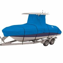 Heavy Duty Center Console T-top Hard-top Under Roof Fishing Boat Storage Cover
