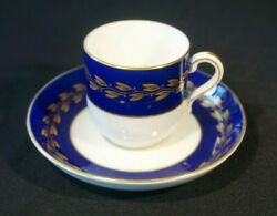 Beautiful Minton And Co Demitasse And Saucer