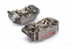 Brembo Hp Billet Front Brake Calipers 108mm Set Of 2 220a01610 220.a016.10 New