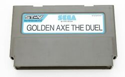 Golden Axe The Duel - Sega St-v Stv Arcade Game Cartridge - Tested And Working