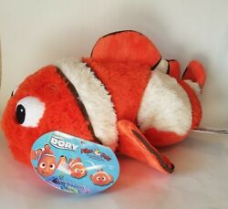 Finding Nemo Pillow Pets Large 18quot; Plush Toy Authentic Disney *NEW WITH TAGS*