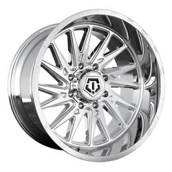 Tis 547c Rim 22x10 6x135 Offset -19 Chrome Quantity Of 4