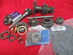 64-65 Mustang - Falcon 6 Cyl Complete 3 Speed Gear Set 33-23-19-14 New+ Used