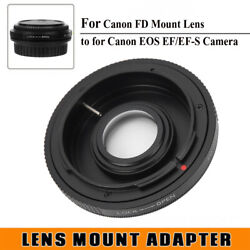 Fd‑eos Lens Adapter Ring For Canon Fd Lens To For Canon Eos Ef/ef‑s Camera Body