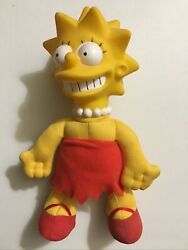 Licensed Lisa Simpson Collectible Dolls 1990 Burger King Meet The Simpsons