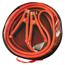 Heavy Duty Commercial Grade Jumper Booster Cable 12 Feet 6 Gauge 500 Amp