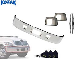 Bumper For Hino 238 258 268 338 For 2005 And Newer Plus Set Of Accessories