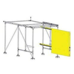 Cargoglide Wss302 Right Sliding Driver Side Wall Panel Assembly
