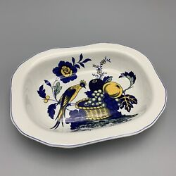 Spode Brafferton Oval Vegetable Serving Dish 9 Inch Discontinued Made In England