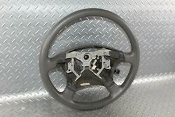 01-07 Sequoia Gray Sr5 Steering Wheel Assembly W/o Audio Control W/cruise Oem