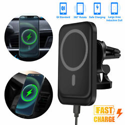 Magnetic Wireless Charger Car Mount Holder For Iphone 12/12 Pro Max Mini Magsafe