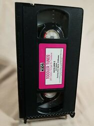 Vtg Cedarmont Kids Sing-a-long Vhs Tape Toddler Tunes Toddlers Caseless