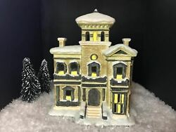 Its A Wonderful Life Enesco Xmas Village Henry F. Potters Mansion Mint In Box