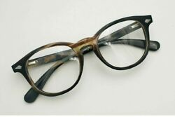New Buffalo Horn Striped Square Round Oval Eyeglasses Size 49-22-145 Rare