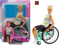 Barbie Fashionista Ken Male Doll In Wheelchair With Ramp 167 - New In Box
