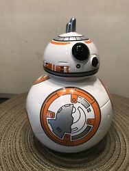 Sci-fi Star Wars Force Awakens Ceramic Bb8 Droid Piggy Bank A Movie Collectible