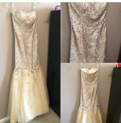 Prom Dress From Miss Priss Paris Collection Size 2 Plus Free Gift - Jewelry Set