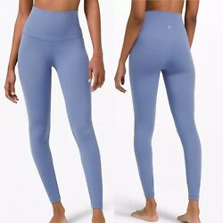 Lululemon Shr Align Pant 28andrdquo 6 Water Drop Nulu Super High Rise Soft Tight Nwt
