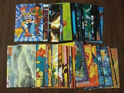 Pokemon Topps The First Movie Almost Complete Base Set Of 72 Cards Missing 18