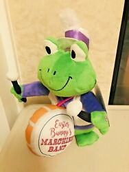 Easter Bunny Marching Band Frog Animated Singing Dancing Plush Drum Drummer New