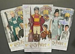 Wizarding World Of Harry Potter Dolls - Harry Potter Draco Malfoy And Cho Chang
