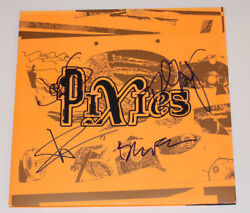 The Pixies Band Signed Authentic And039indie Cindyand039 Vinyl Record Lp W/coa X4