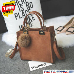 US Women Leather Shoulder Bag Crossbody Travel Handbag Tote Girls Purse Satchel $23.88