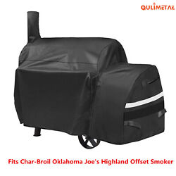 Grill Cover For Oklahoma Joe's Highland Smoker Char-broil Dyna-glo Char-griller