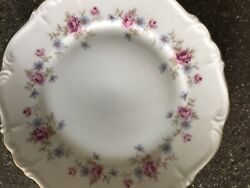 Edelstein China Complete Dinner Set Service For 12 Florence Pattern