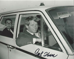 Jack Thornell - Civil Rights Photographer - Signed 8x10 Photo Coa Bobby Kennedy
