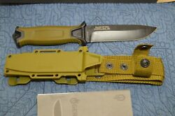 Gerber Strongarm Fixed Blade Knife With Sheath Made In Usa