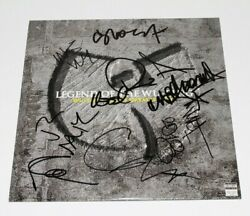 Wu-tang Clan Group Signed Legend Of The Clanand039s Greatest Hits Vinyl Record W/coa