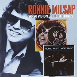 Ronnie Milsap - 20-20 Vision / Night Things - Cd - Mint Condition - Rare