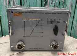 Vintage Rohde And Schwarz Vhf-uhf Low Pass Filter / T 2754