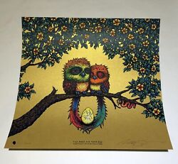 Marq Spusta Two Birds And Their Egg Gold Variant Eyes Open /22 Full Size Print