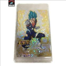 Trading Card Vegetto Sh1-sec2 Gold Card Used L3gh0646 Used From Japan Ems