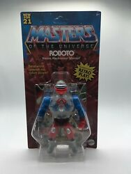 2021 Motu Masters Of The Universe Origins Wave 3 Roboto Unpunched