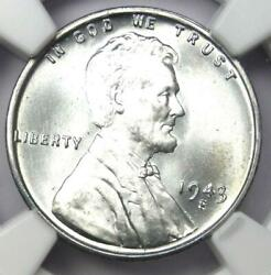 1943-s Lincoln Wheat Cent Steel Penny 1c - Certified Ngc Ms68 - 4,300 Value
