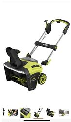 Ryobi 20in. 40v Single Stage Brushless Cordless Electric Snow Blower Ry40850 2