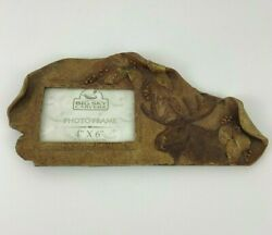 Big Sky Carvers Moose 4 X 6 Picture Frame Nature Fragments New
