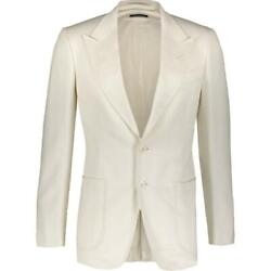 Tom Ford Off White Jacket Blazer It46 Rrp3600£ New Auth