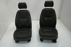 09 Chevy Avalanche 1500 Rh Right Lh Driver Front Seat Bucket Bench Leather