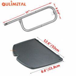 Grill Replacement Parts Burner Cooking Griddle For Weber Q1200 Q120 Q1000 Q100