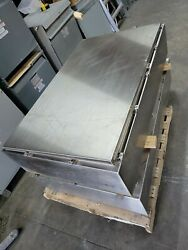 1 Hoffman Stainless Steel Enclosure A60h3612sslp Type3r44x12 Size60x36x12