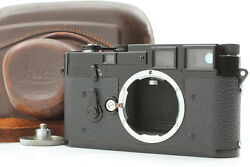Cla'd Near Mint+ Leica M3 Black Repainted Rangefinder Double Stroke From Japan