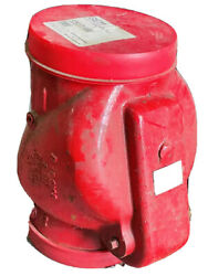 8 Grooved Riser Check Valve Ul/fm With Trim - Ready Riser Fire Protection